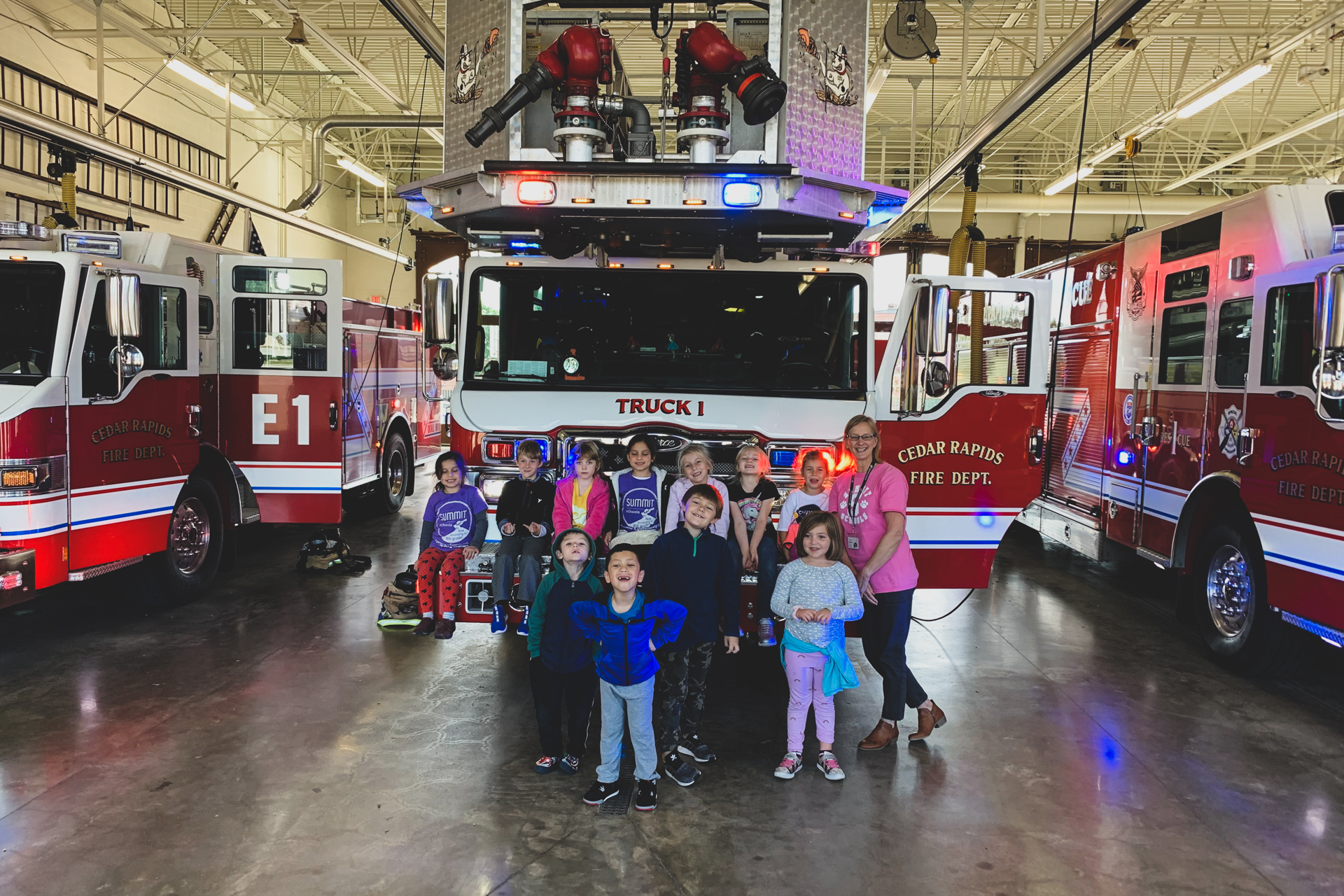 Summit Schools Cedar Rapids Fire Department
